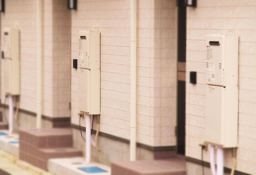 共同住宅の場合は20号の給湯器が多いけど、大型に出来ない理由もあるから気を付けて