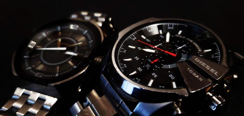 デザイン性の高いディーゼルの腕時計