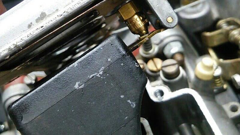 WEBERウェーバーキャブレター 油面調整 フロート調整