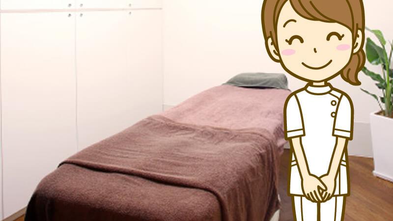 アリシアクリニックは全室個室で清潔、ゆったり