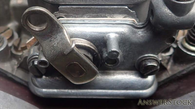 スターター補助キャブから燃料漏れ