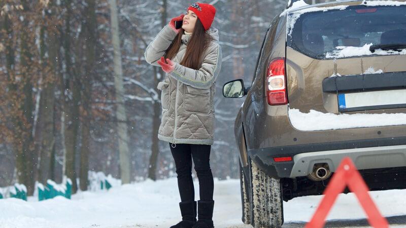 雪道でバッテリー上がりなんて最悪、救助までに凍え死にますよ。