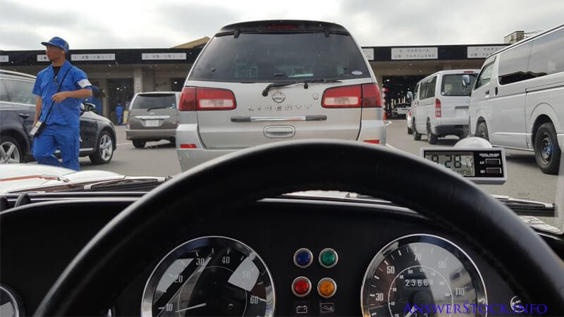 車検場の検査レーン