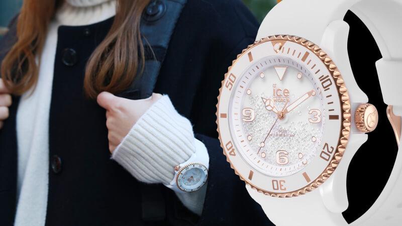 ice-watch(アイスウォッチ) スワロフスキー400個のクールなモデル