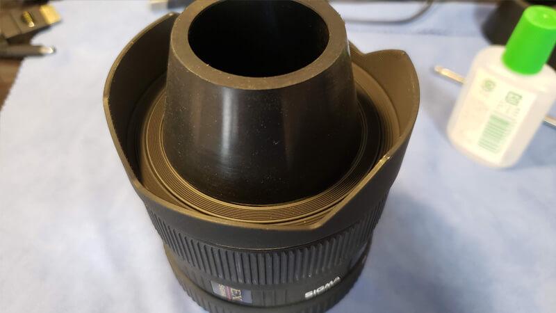 超広角レンズの塵、カビ、ホコリを分解清掃する Sigma 12-24mm F4.5-5.6 EX DG HSM