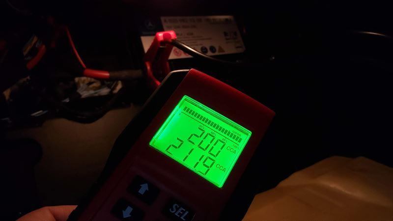 CLAのサブバッテリーのCCAは200