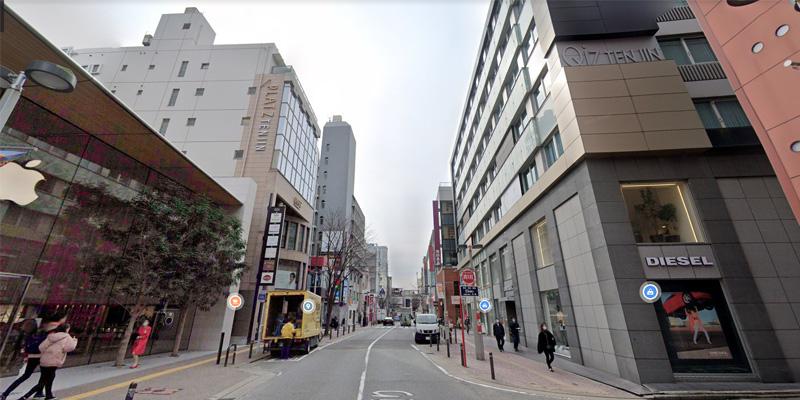 メンズエミナル福岡天神院@GoogleMap